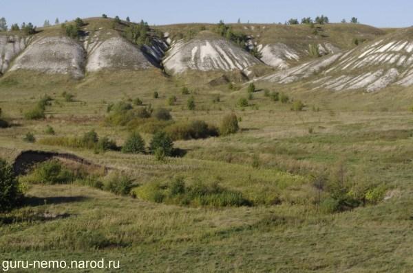 Меловые холмы