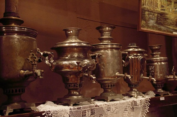 И снова в музее Колыванского камнерезного завода