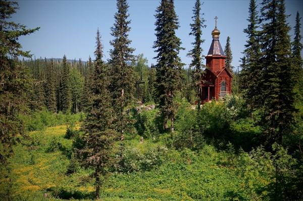 Церквушка возле Снежного Барса