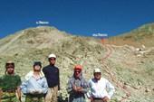 Группа перед подъемом на перевал Беляева