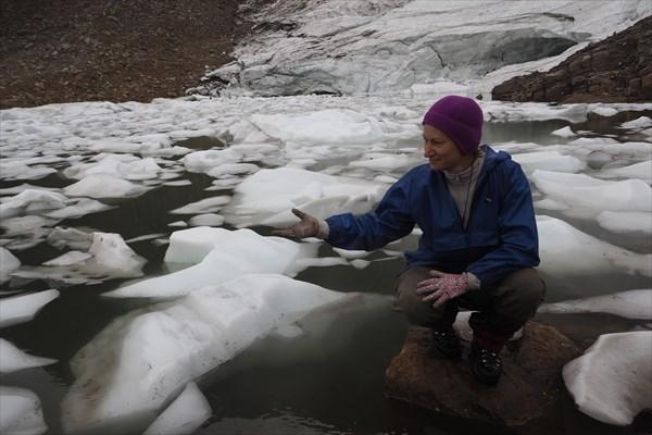 На ледяном озере
