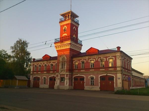 Пожарная станция.