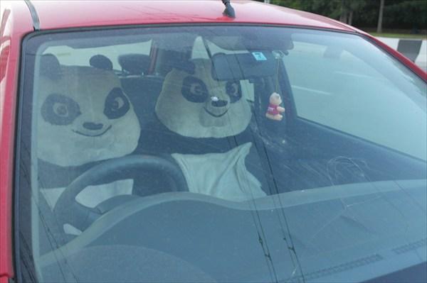 Панда-мобиль