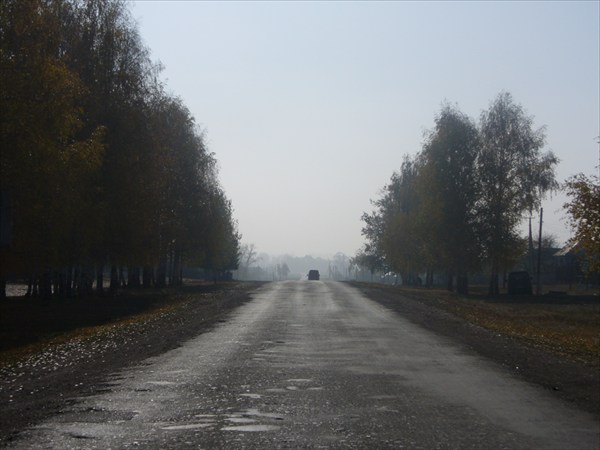 дорога в Воскресенск