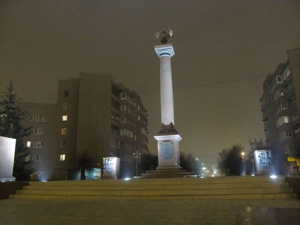 """Стела """"Тверь - город воинской славы"""""""