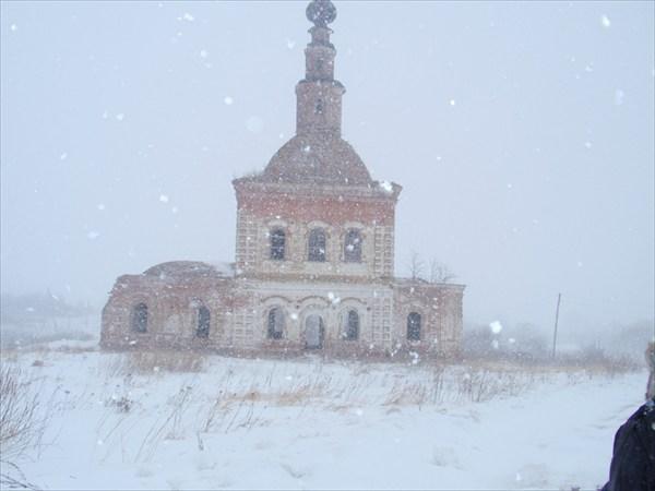 Церковь в семеновском-советском