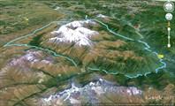 Тибет, разведка района