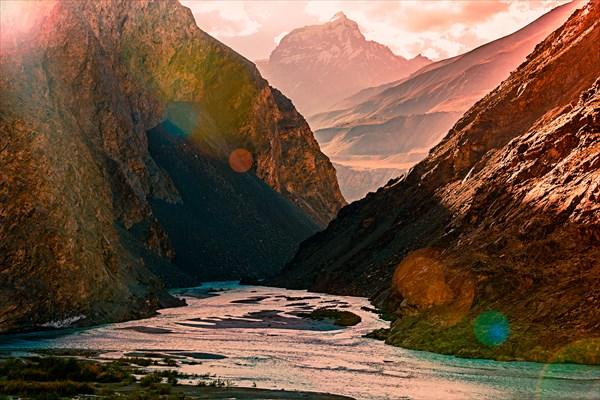 Долина реки Бартанг